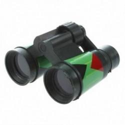 1X (SODIAL (R) ArmyGreen műanyag 10 x 30 mm-es távcső játék gyerek gyerekeknek I3M7)