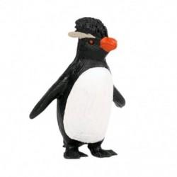 Szilárd szimuláció Tengeri állati modell pingvin figura Jumping Rock Penguin U6H1