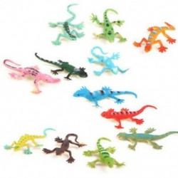 Gecko kis műanyag gyík Szimulációs valóságdekoráció Gyerekjátékok 12 L5G8
