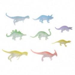 8 éjszakai fény, szürke színű, dinoszaurusz figura gyermekjáték ajándék gyerek E8T1 W6P1