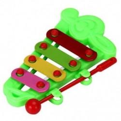 Baby Kid 4-Note Xilofon zenei játékok Bölcsességfejlesztő R6L7