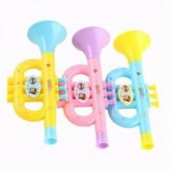 Színes gyermekek fújható trombita trombita hangszere Random W9Q2