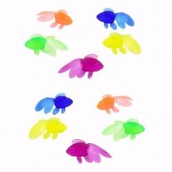 10 db / tétel puha gumi aranyhal babafürdős játékok kis műanyag szimuláció Sm C4L4