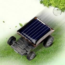 Kiváló minőségű legkisebb mini autós napelemes teljesítményű játékkocsi versenyző oktatási eszköz A2Y3