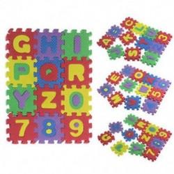 36 db Baba gyerek szám ábécé hab puzzle hab hab matematika oktatási X1Y4