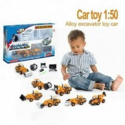 6 az 1-ben hidraulikus járművek sorozata Autós játék, 1:50-es ötvözet, DvE2