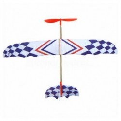 Elasztikus gumiszalaggal hajtott barkácsolásos habos sík modellkészlet repülőgép oktatójáték BT