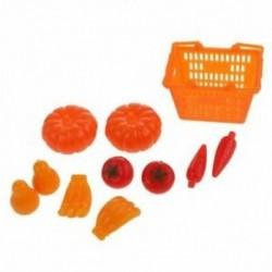 2X (11db-os kosár gyümölcskosár-készlet Barbie babákhoz S8U5 kiegészítőkhöz)