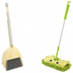 Zöld, gyengéd sárga - Gyerektisztító készlet 3 darab, gyermektakarító tisztítókészlet P7V2