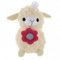 fehér - 1X (Alpaka-bárány plüss játékkrém Arpakasso Llama Doll-kitömött állat T2J6)
