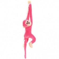 Rózsaszín - 1X (gibbon majom PP pamut babajátékok gyermekfigyelő plüss játékok rózsaszín T8U3)