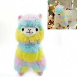 18cm színes Kawaii Alpaka Láma Arpakasso Puha plüss Alpacasso Baby Doll E1R0
