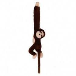 Aranyos Screech gibbon majom Plüss játék babajátékkal - Gyerek karácsonyi ajándék (együtt L4Q8