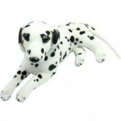 1X (Új kedvesen töltött játékok, dalmátok szimulációs kutya plüss állati ajándéka [Játék M9W7