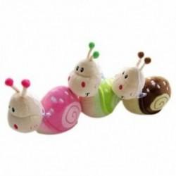 2X (Kis csiga gyerekeknek ajándék plüss babajáték kis csiga baba S6Y8) Q5X5