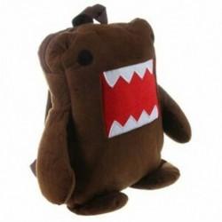 Aranyos Domo Kun Brown plüss hátizsák-barna P3M8