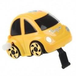2X (sárga műanyag, feltekerhető óramű autóverseny játék gyerekeknek W7P2)