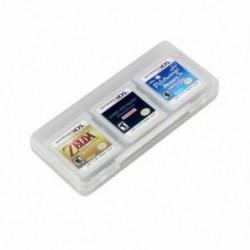 1X (Tiszta 6 az 1-ben játékkártya tárolódoboz-doboz a Nintendo 3DS XL LL O5O6-hoz)