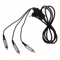 AV TV kábel RCA audio-video kábel a Sony PSP Slim 2000 3000 televízióhoz Pr J1K8