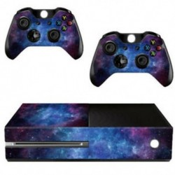 Ködmintázatú bőrmatrica az Xbox ONE konzolvezérlőhöz   Kinect matrica V E0W5