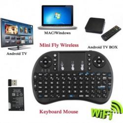 2.4G vezeték nélküli egér billentyűzet távirányító XBMC Android TV Box