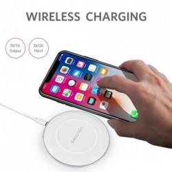 QI hordozható gyors vezeték nélküli töltő IPhone 8/8 Plus / X-hez