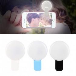 Selfie fény 9 LED vaku fényképező kamera iPhone univerzális telefon