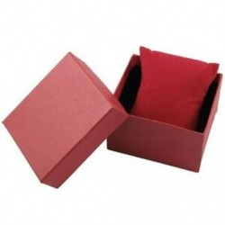 1X (piros téglalap alakú ajándék csukló karóra tároló doboz tok T5F1)