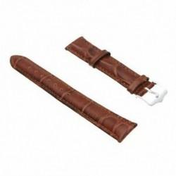 18 mm-es PU bőr színű karkötőóra karkötő New Fashion B8Q4 X1Q3