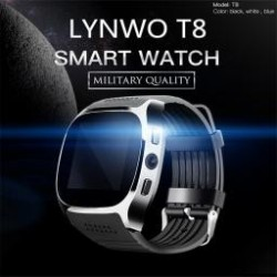 LYNWO T8 Vízálló óra karóra Bluetooth facebook hívásrögzítés