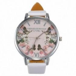 Lvpai luxus bőr női ruha órák karóra divat virág Butterfl B2A2