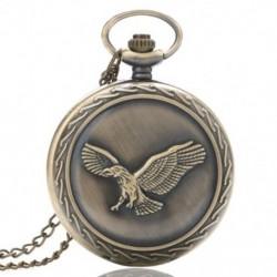 1X (Férfi és női divat ezüst csipke fekete festék Repülő Sas Pend N1L3