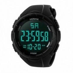1X (HONHX luxus férfi analóg digitális hadsereg sport LED vízálló karóra Sw O7V4