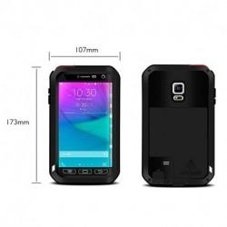 LOVE MEI Alumínium Gorilla Ütésálló vízálló tok Samsung Note Edge