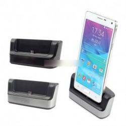 USB kábel SYNC kettős dokkoló töltő bölcső Samsung Galaxy Note 4 IV N9100