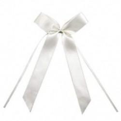 autó dekoráció esküvői csokornyakkendő esküvői dekoráció 25 db fehér W4D1