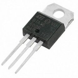 5 db szilícium kétirányú tirisztorok 600V 16A SCR Triacs BTA16-600B S1B4 W4C8