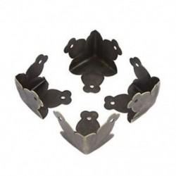 4 db fém sarokvédő fóliaszekrény tokhoz Bronz J4M3