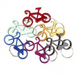 Alumínium sörösüveg-palack-nyitó kulcstartó kerékpár Mini-palack-nyitógombok Colle E6R2
