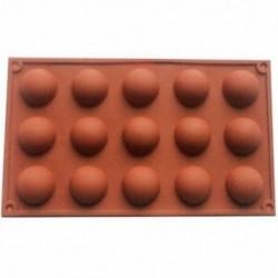 15 adagos Félgömb alakú szilikon sütőforma - Q1M2