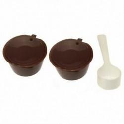 i cafilas Újratölthető kávékapszula Nescafe Dolce Gusto újrafelhasználható kapszulahoz Q4J5
