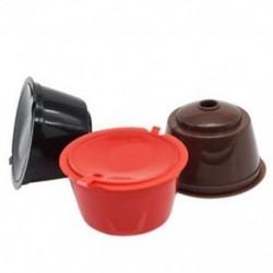 Y0U0 3 Pack Dolce Gusto újratölthető kávékapszula Újrahasznosítható kávéfőző szűrők
