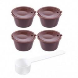 i cafilas 4x újrahasznosítható kávékapszula-szűrő a Dolce Gusto újratölthető K2X2-hez