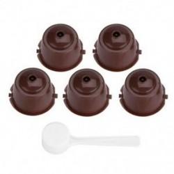5 db újrahasznosítható újratölthető kapszula hüvelyek Nescafe kapszulagépekhez Maker N K7O2