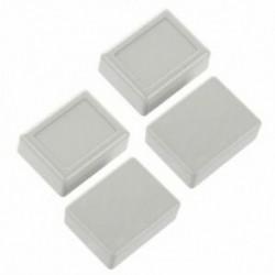 1X (4 db 46 x 36 x 18 mm-es vízálló műanyag ház DIY csatlakozódoboz szürke-wh D5J8