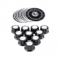 20 db állítható forgógombos potenciométer vezérlőgombok 0-100 méretarányú Shee S3A1