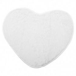 Divat modern dekoratív bozontos szív puha műszőrme szőnyeges báránybőr hálószoba X1Q5