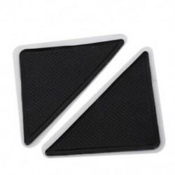 2X (4 db / szett szilikon fürdõszőnyeg padló csúszásgátló asztali ajtópálca padlószőnyeg R S8L4