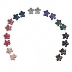 Virág alakú mini hajkaromú hajcsapok lányoknak - 10 darabos hajcsipeszek (Rando I8C6