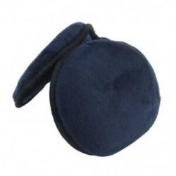 1X (férfi nők sötétkék gyapjú párna téli melegítő fülmelegítő fülvédő K5K9)